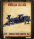 American Legends: 19th C. American Steam Locomotive (Black)
