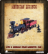 American Legends: 19th C. American Steam Locomotive (Red)