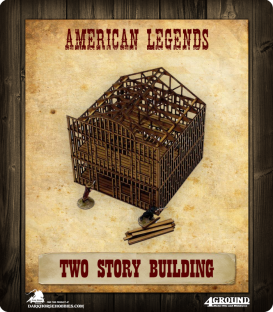 American Legends: Two-Story Building Under Construction