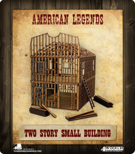 American Legends: Two-Story Small Building Under Construction