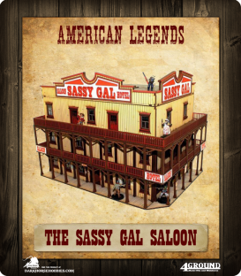 American Legends: The Sassy Gal Saloon