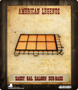 Dead Man's Hand: The Sassy Gal Saloon (Sub Base)