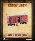 American Legends: 19th C. Box Car (Red)