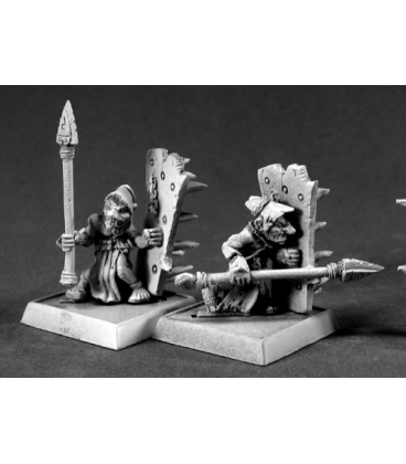 Warlord: Bloodstone Gnome Pulgers (9-pack) (unpainted)