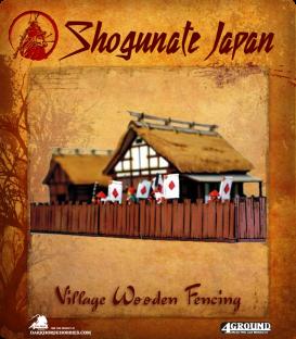 Shogunate Japan: Village Wooden Fences