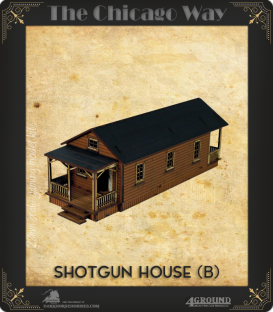 The Chicago Way: Shotgun House (B)