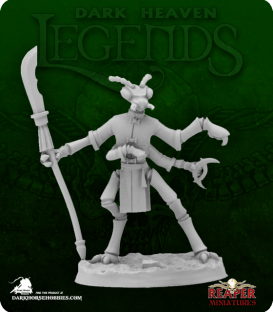 Dark Heaven Legends: Mantis Man Gladiator