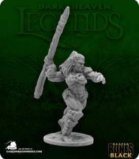 Dark Heaven Bones Black: Jade Fire Spearman