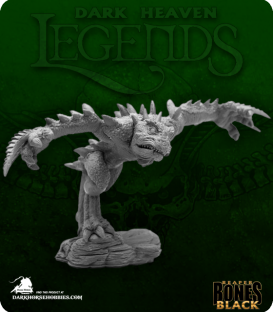 Dark Heaven Bones Black: Chaos Toad Brawler