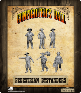 Gunfighter's Ball: Pedestrian Bystanders Pack