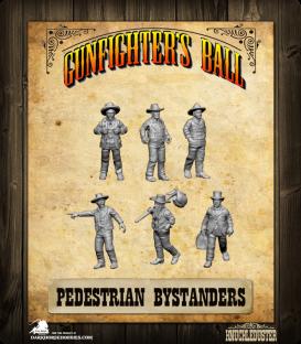Gunfighter's Ball: Pedestrian Bystanders Pack