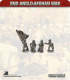 10mm Anglo-Afghan War: Afghan Army Foot Command