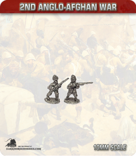 10mm Anglo-Afghan War: Afghan Army Infantry in Turcoman Cap