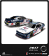 1/64 Nascar Diecast: William Byron - 2017 Liberty University Chevy Camaro