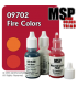 Master Series Paints: Fire Colors Triad