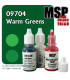 Master Series Paints: Warm Greens Triad