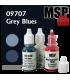 Master Series Paints: Grey Blues Triad