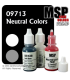 Master Series Paints: Neutral Colors Triad