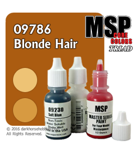 Master Series Paint: Blonde Hair Triad
