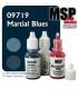 Master Series Paints: Martial Blues Triad