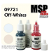 Master Series Paints: Off-White Colors Triad