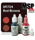 Master Series Paints: Red-Browns Triad