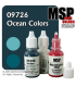 Master Series Paints: Ocean Colors Triad