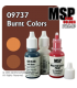 Master Series Paints: Burnt Colors Triad