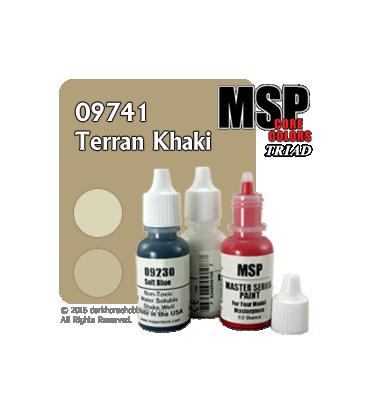 Master Series Paints: Terran Khaki Triad