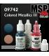 Master Series Paints: Colored Metallics Three Triad