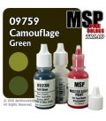 Master Series Paints: Camouflage Green Triad