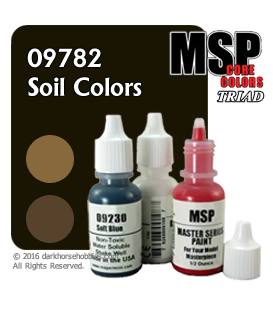 Master Series Paints: Soil Colors Triad