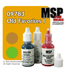 Master Series Paints: Old Favorites I Triad