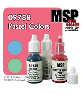 Master Series Paints: Pastel Colors Triad