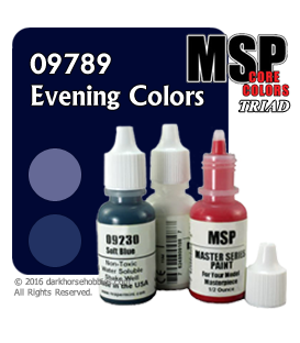 Master Series Paints: Evening Colors Triad