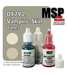 Master Series Paints: Vampiric Skin Tones Triad