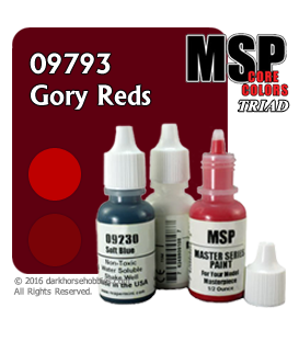 Master Series Paints: Gory Reds Triad