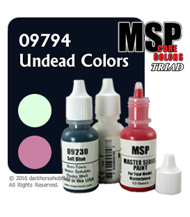 Master Series Paints: Undead Colors Triad