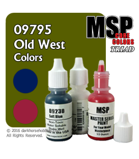 Master Series Paints: Old West Colors Triad