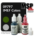 Master Series Paints: IMEF Colors Triad