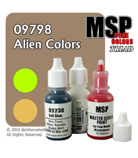 Master Series Paints: Alien Colors Triad