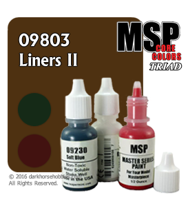 Master Series Paints: Liners II Triad