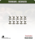 Terrain Scenics (10mm): Chickens Pack