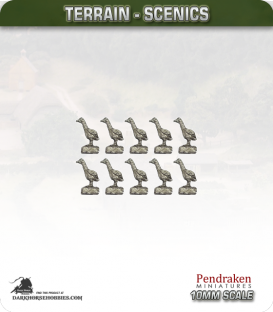 Tabletop Scenics (10mm): Geese Pack