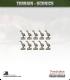 Terrain Scenics (10mm): Geese Pack