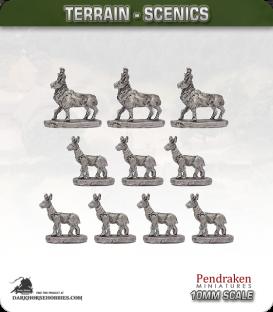 Terrain Scenics (10mm): Deer Pack