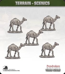 Terrain Scenics (10mm): Camels Pack