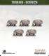 Terrain Scenics (10mm): Pygmy Hippos Pack