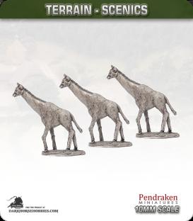 Terrain Scenics (10mm): Giraffes Pack