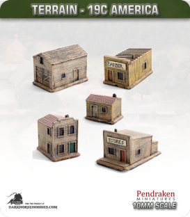 19th Century America (10mm): Building Set A